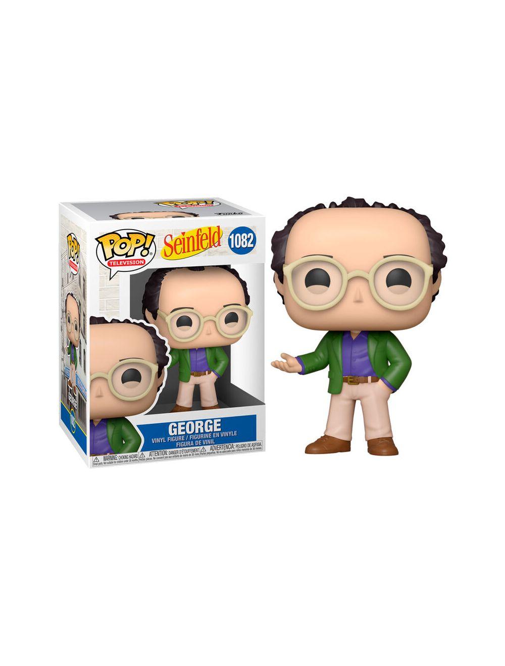 Funko POP! Seinfeld - George Vinyl Figura 10cm