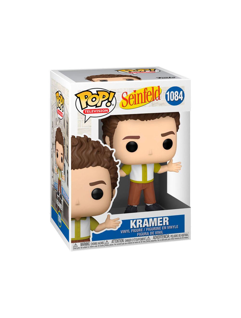 Funko POP! Seinfeld - Kramer Vinyl Figura 10cm