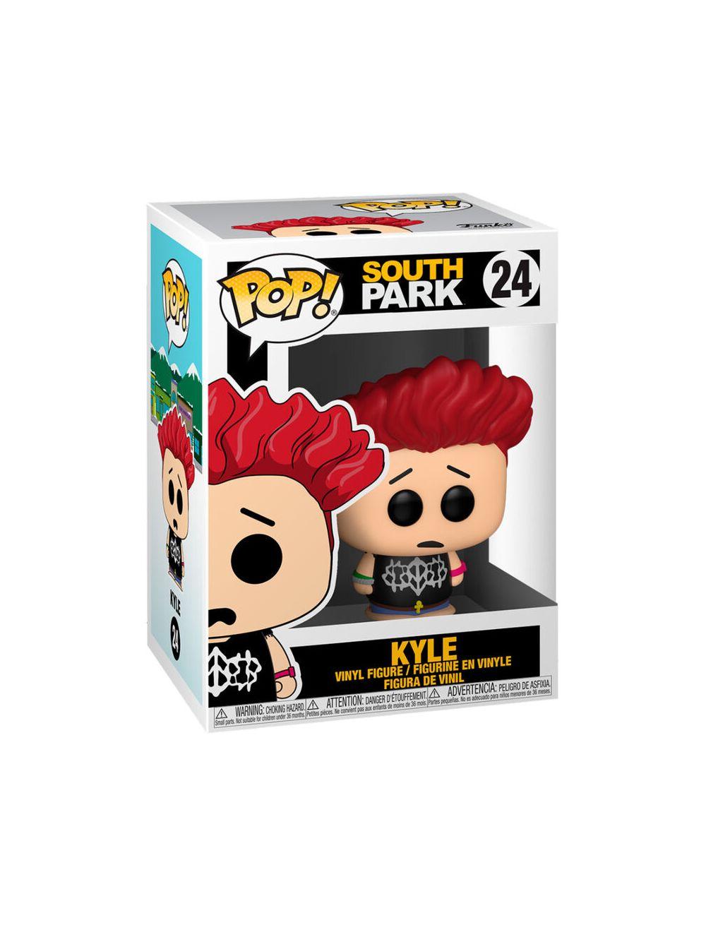 Funko POP! South Park - Jersey Kyle Vinyl Figura 10cm