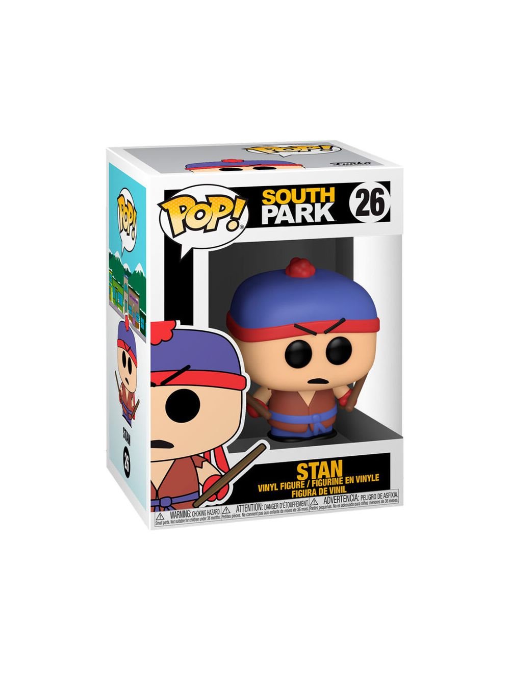Funko POP! South Park - Shadow Hachi Stan Vinyl Figura 10cm