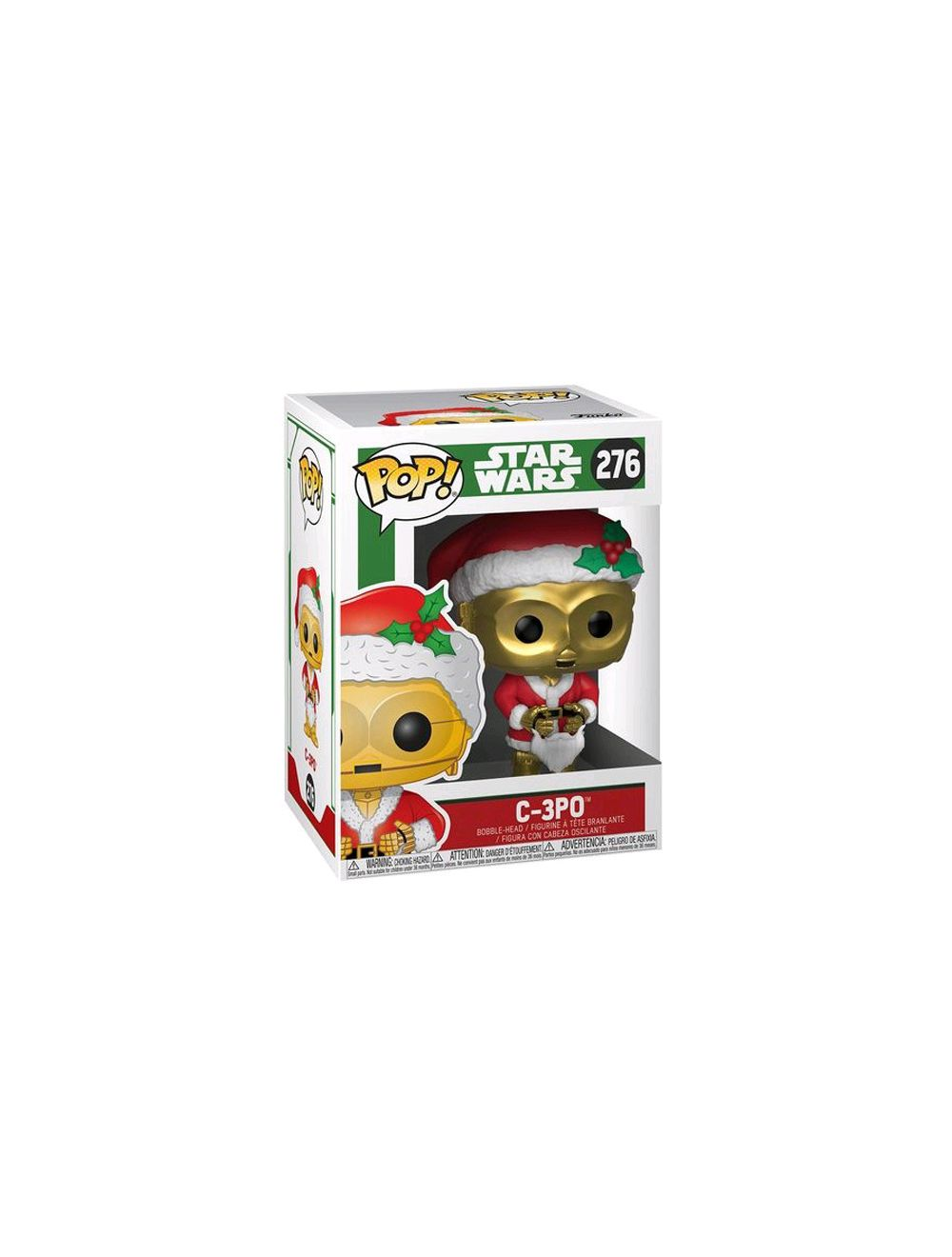 Funko POP! Star Wars: Holiday Santa C-3PO Vinyl Figura 10cm