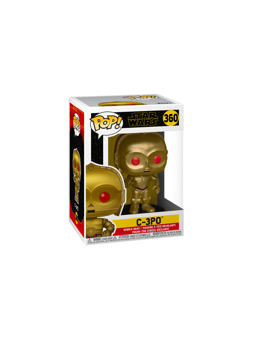 Funko POP! Star Wars Rise of Skywalker - C-3PO (Red Eyes) (MT) Vinyl Figura 10cm