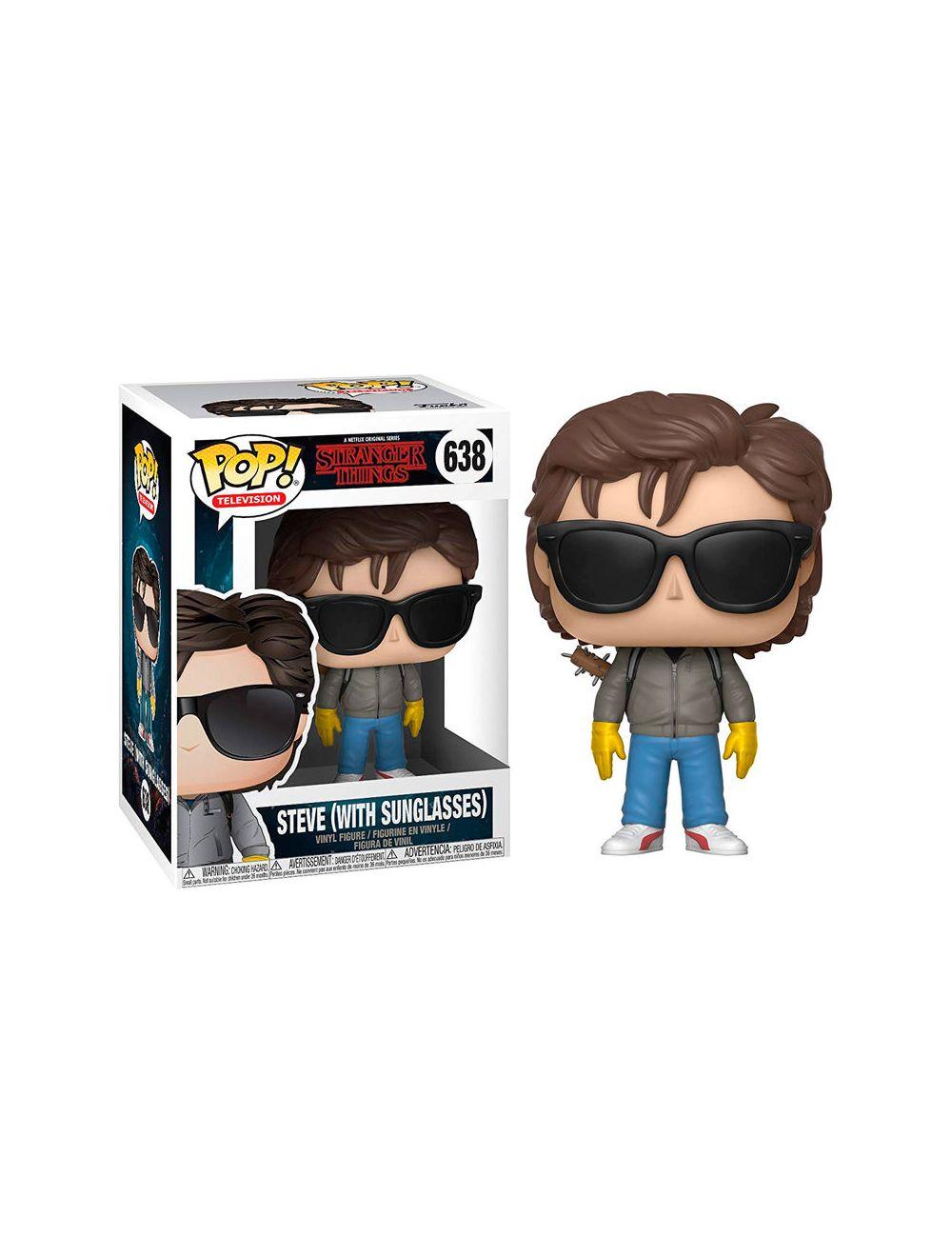 Funko POP! Stranger Things Steve with Sunglasses Vinyl Figura 10cm