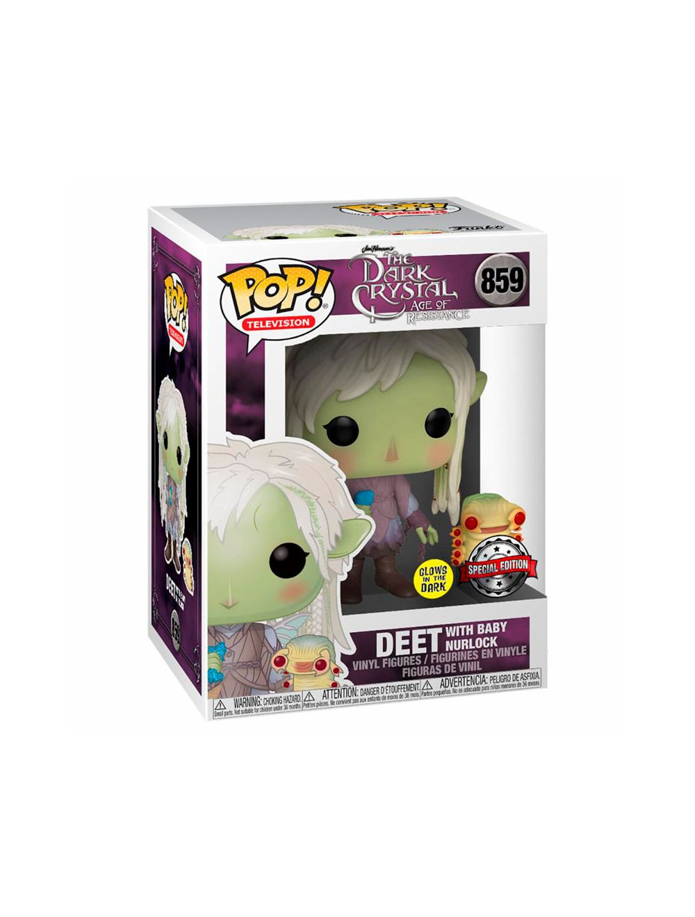 Funko POP! POP Television Dark Crystal - Deet wings & glowing buddy Vinyl Figura 10cm