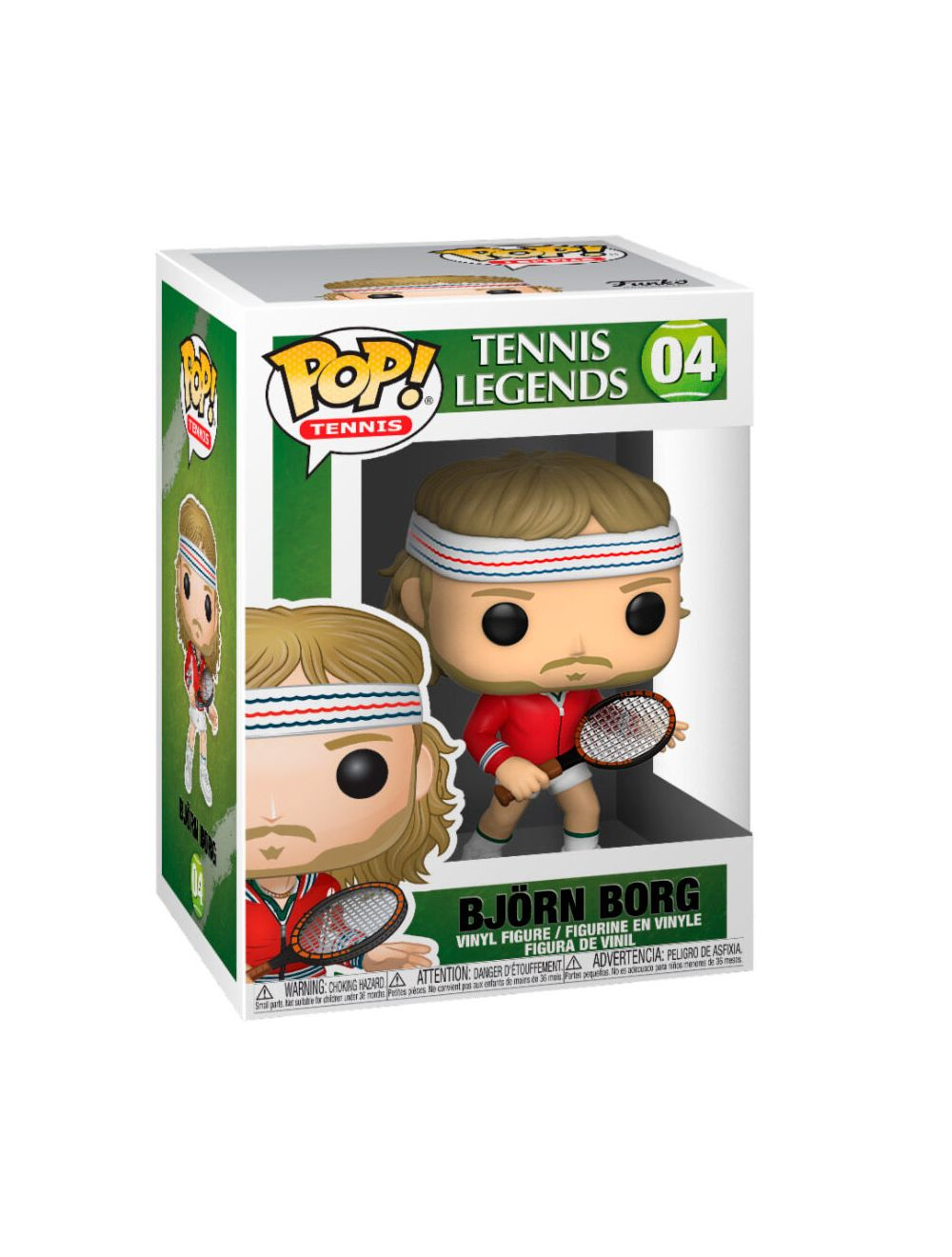 Funko POP! Tennis Legends - Björn Borg Vinyl figura 10cm