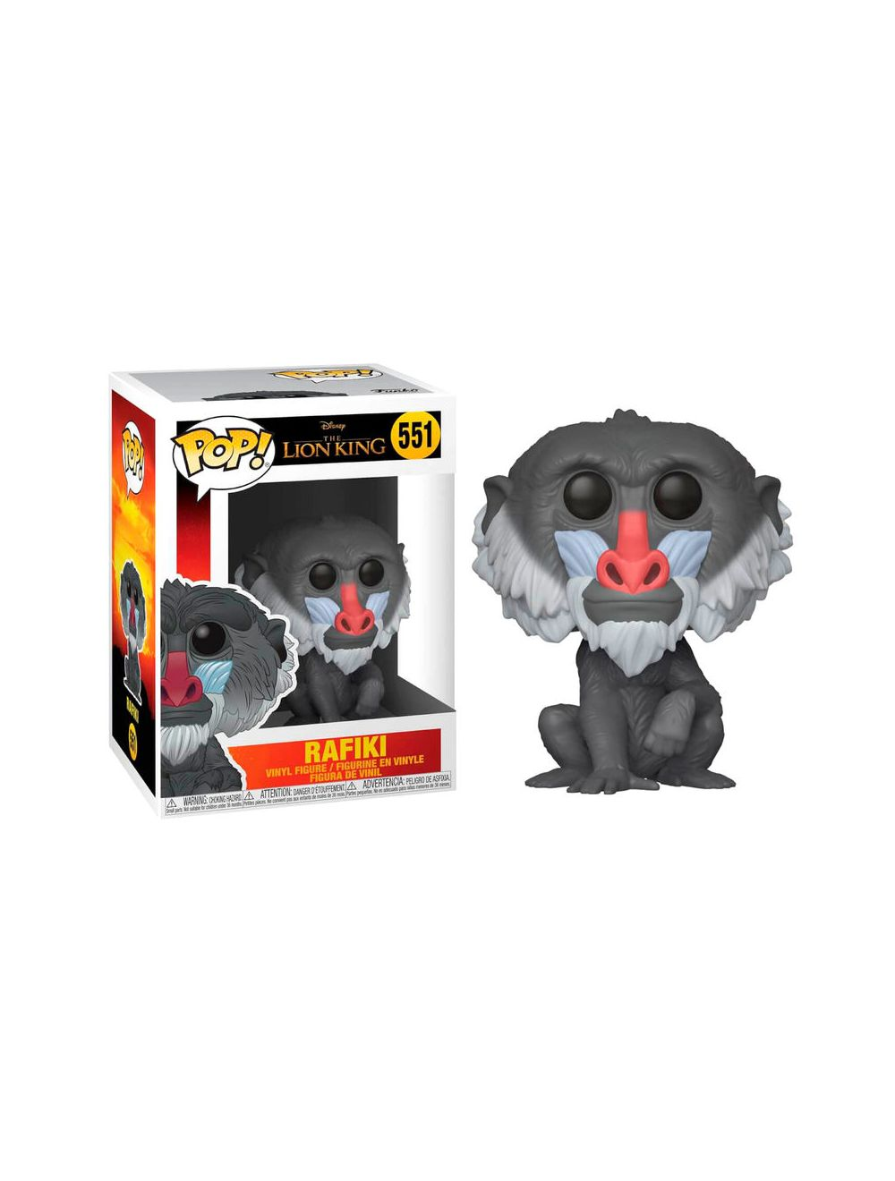 Funko POP! The Lion King - Rafiki Vinyl Figura 10cm
