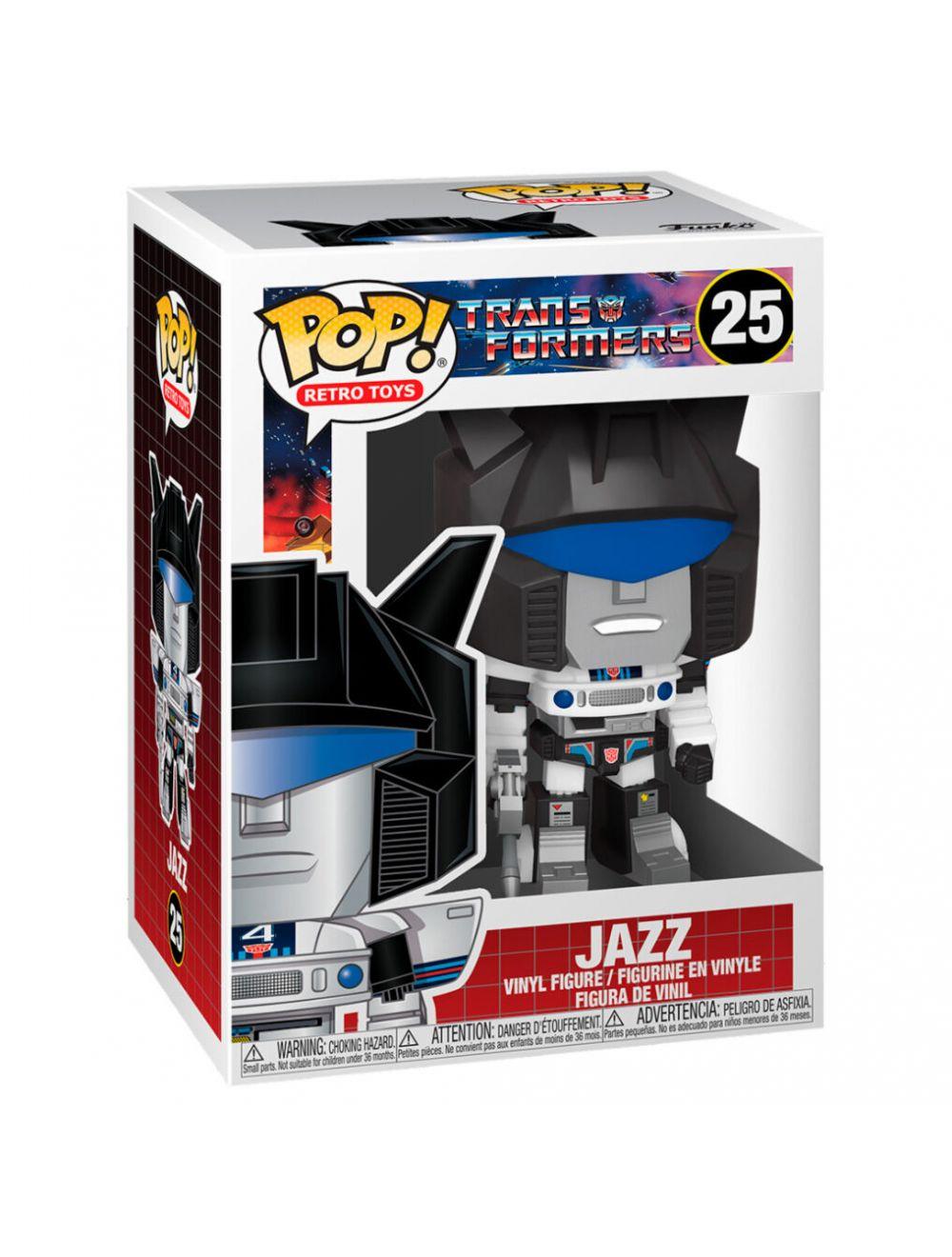 Funko POP! Transformers - Jazz Vinyl figura 10cm
