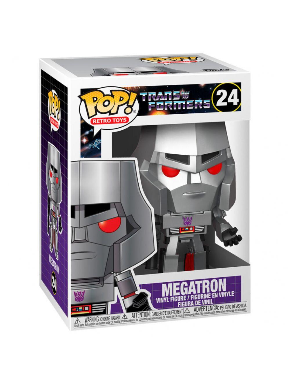 Funko POP! Transformers - Megatron Vinyl Figura 10cm