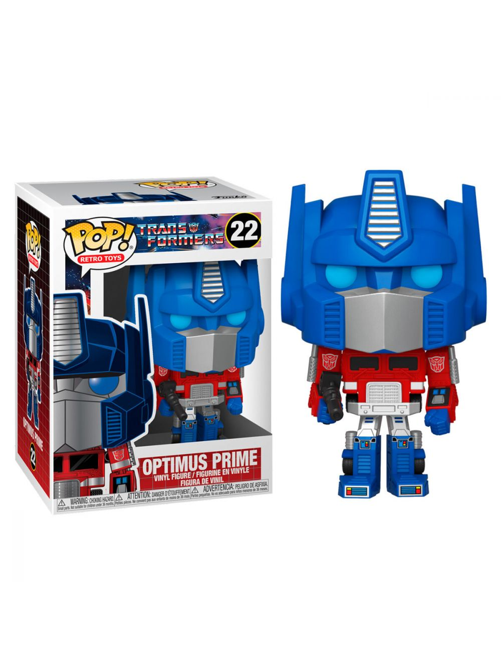 Funko POP! Transformers - Optimus Prime Vinyl Figura 10cm