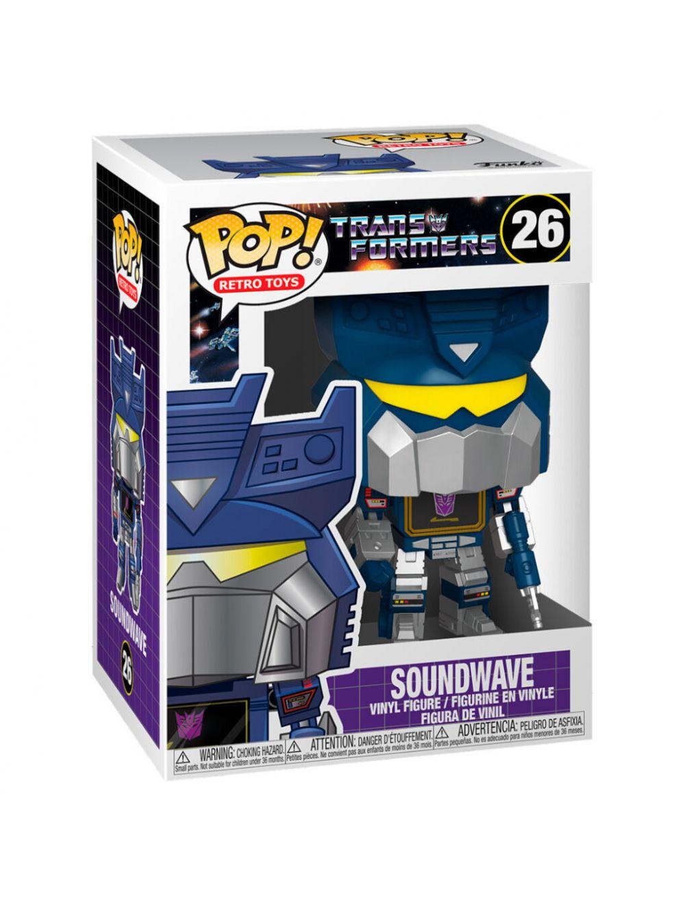 Funko POP! Transformers - Soundwave Vinyl figura 10cm