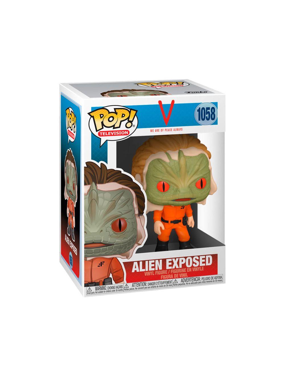 Funko POP! TV Show - Exposed Alien Vinyl figura 10cm