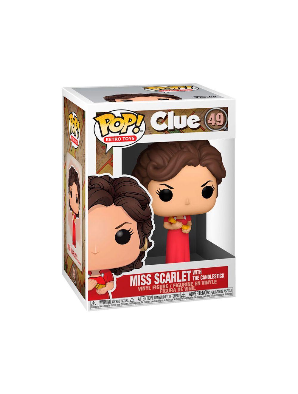 Funko POP! Vinyl - Clue - Miss Scarlet Candlestick Vinyl figura 10cm