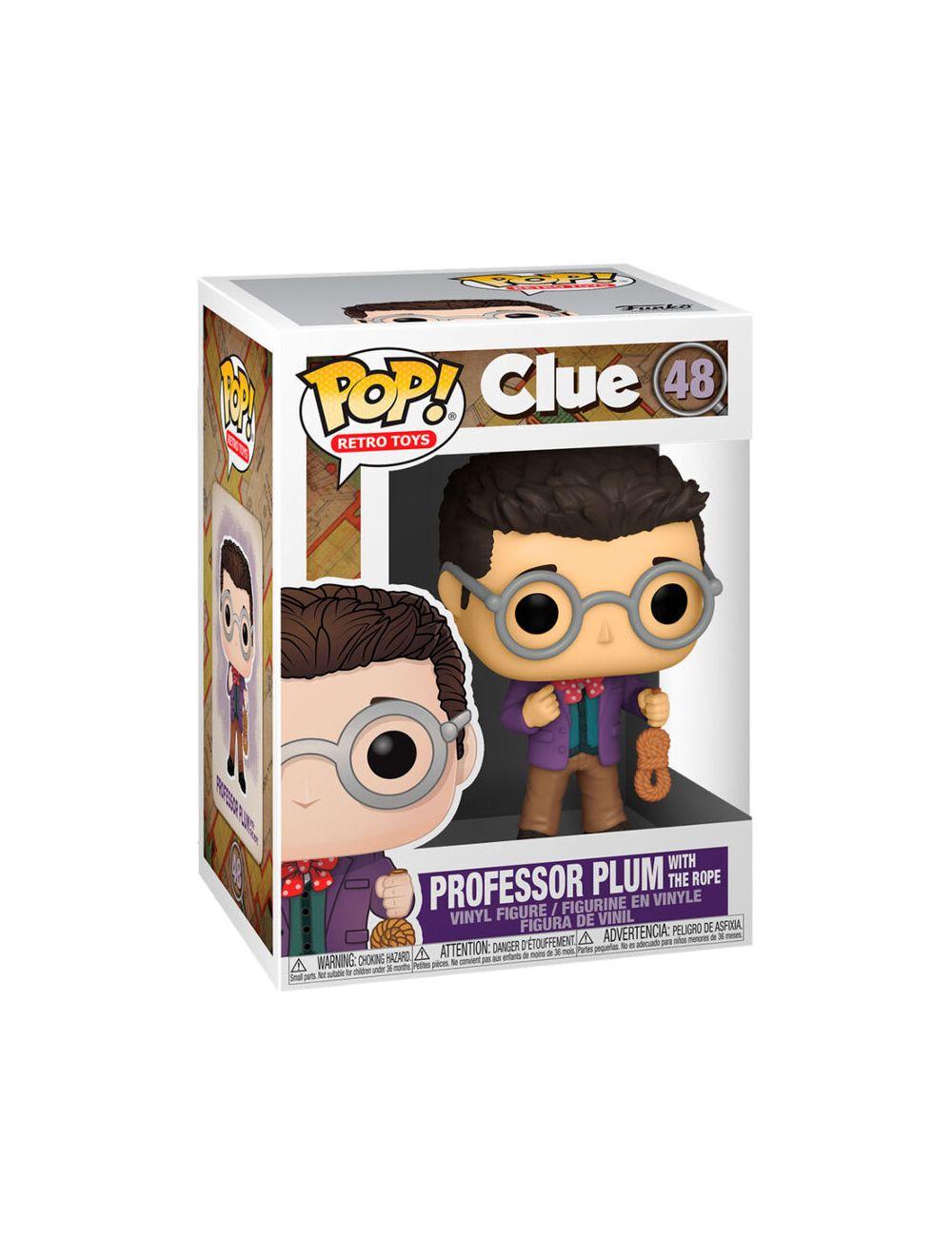 Funko POP! Vinyl - Clue - Professor Plum Rope Vinyl figura 10cm