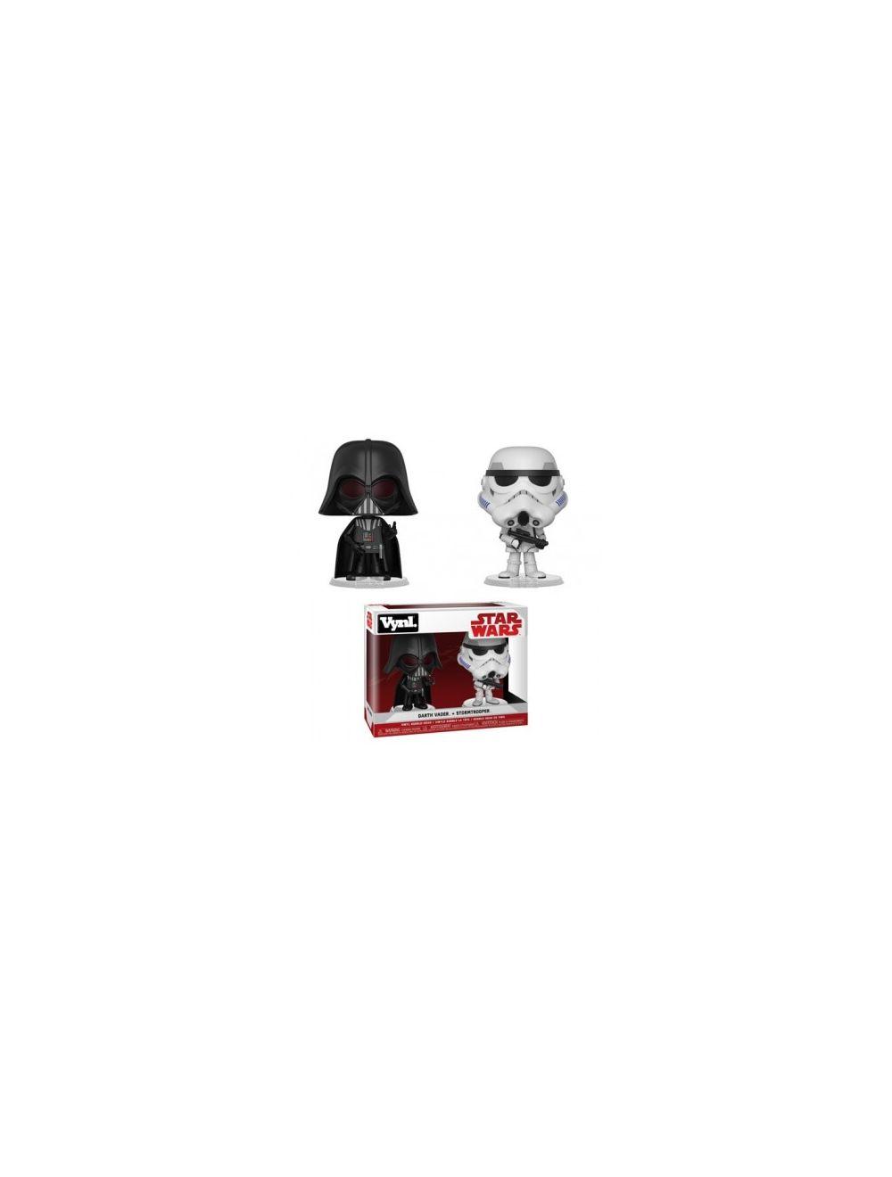 Funko Vynl. - Star Wars- Darth Vader & Stormtrooper 2-Pack Action Figurák 10cm