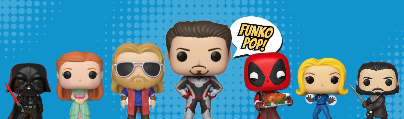 Funko POP! geek kockafej figurák